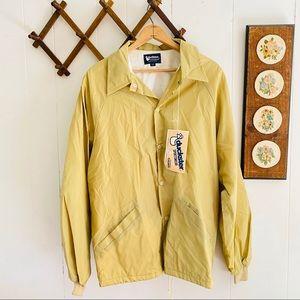 NWT Vintage 1982 Lined Windbreaker Jacket